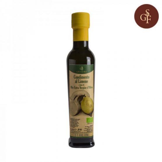 Olio extravergine di oliva ( AGRUMETATO ) al limone
